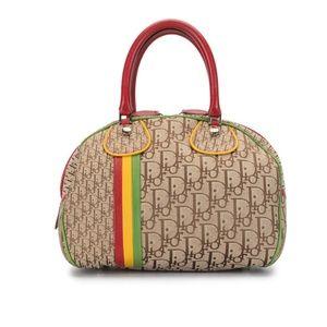 Vintage Dior Rasta Bowling Bag NW
